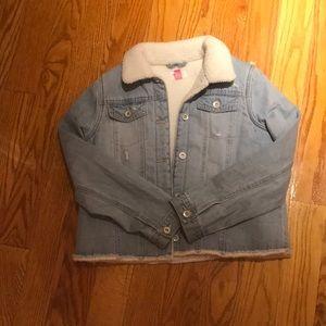 Girls children's place denim jacket